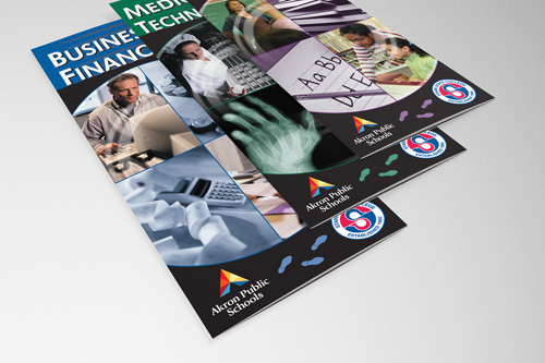 Akron Public Schools Career Education Brochures