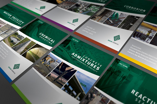 Euclid Chemical Product Brochure Series