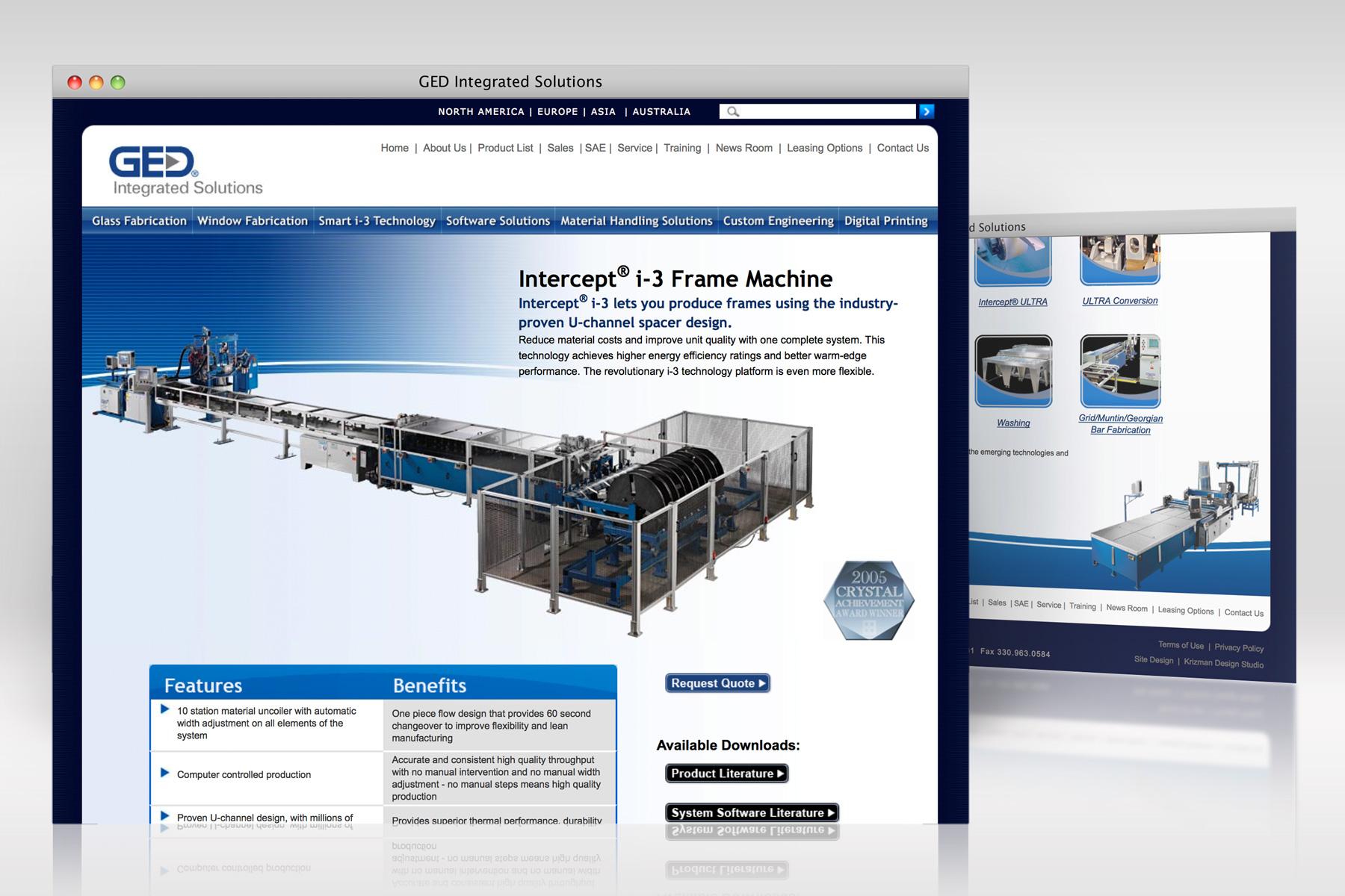 GED web design 2