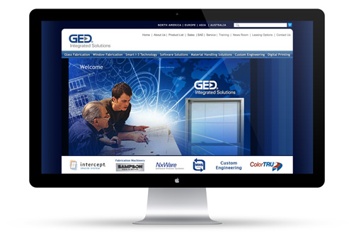 Glass Equipment Development Web Design
