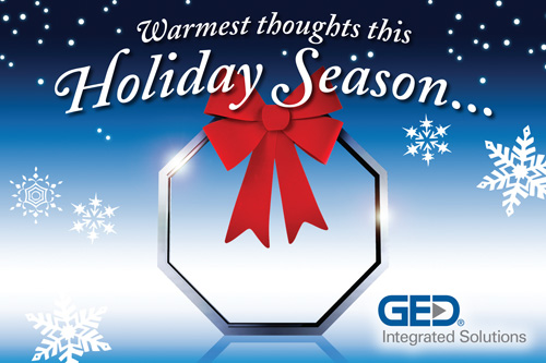 GED Holiday Postcard