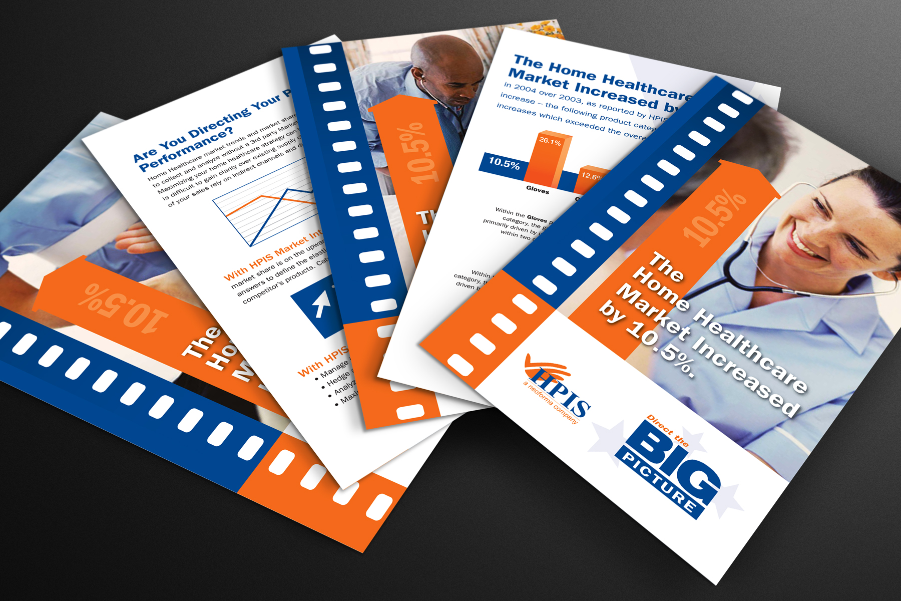 HPIS Direct mail graphic design