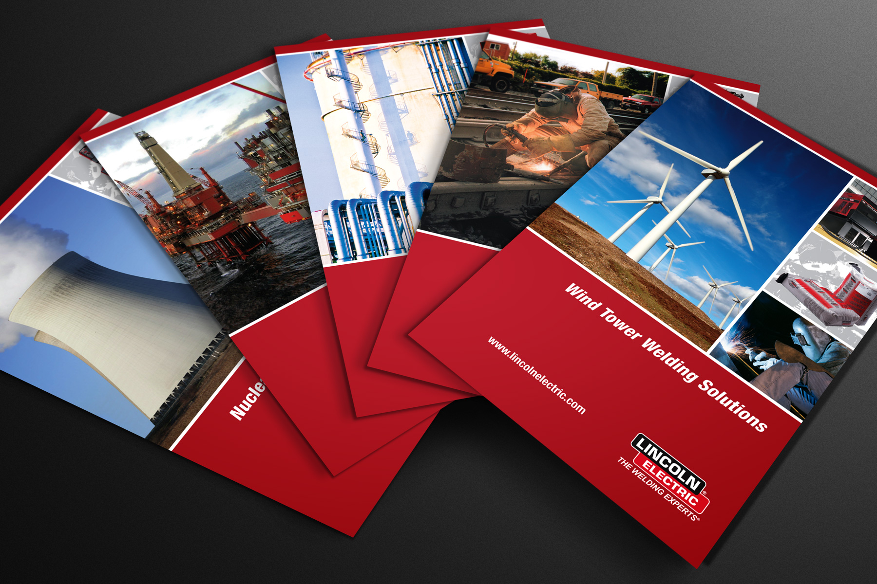 Lincoln Electric brochure series