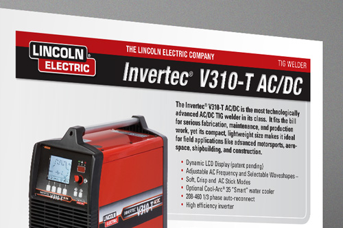 Lincoln Electric Invertec Brochure