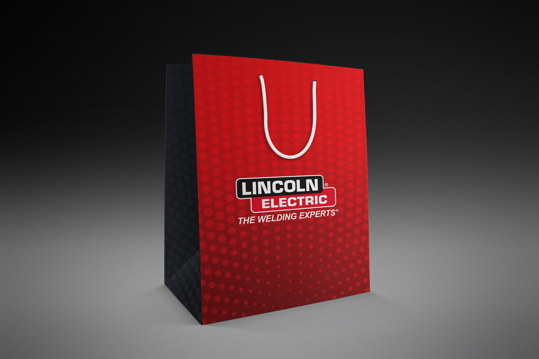 Lincoln Electric gift tote