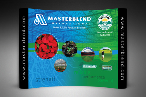 Masterblend Tradeshow Booth