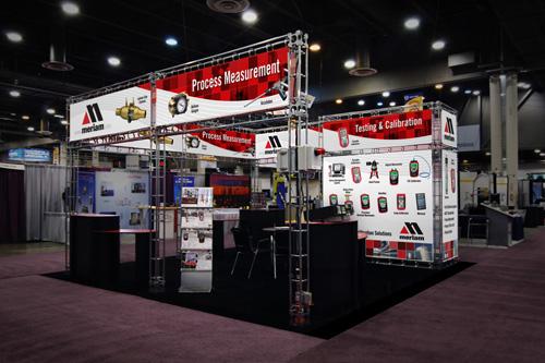 Meriam Tradeshow Booth Redesign