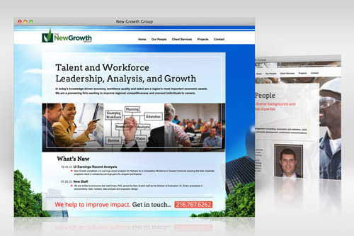 New Growth Group Web Design