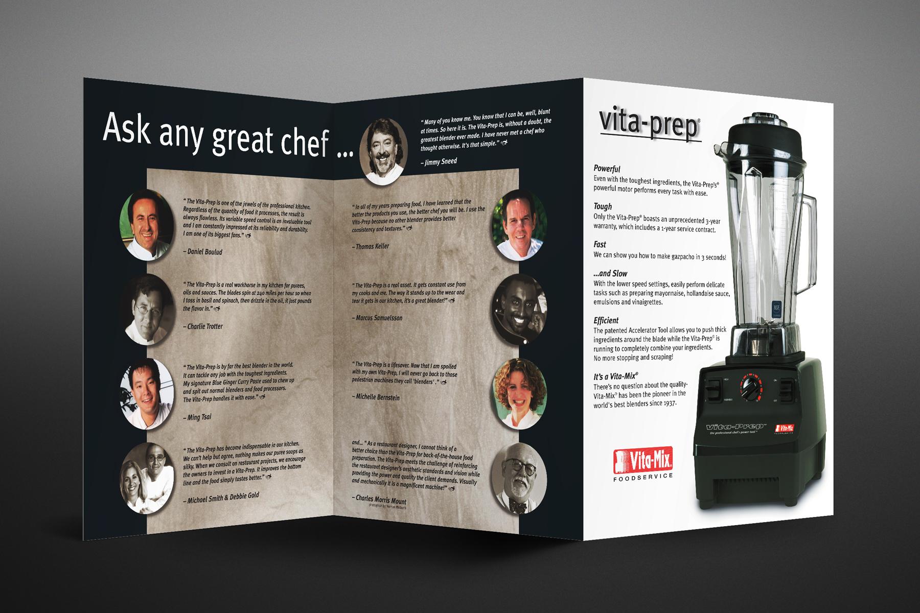 Vitamix brochure design2
