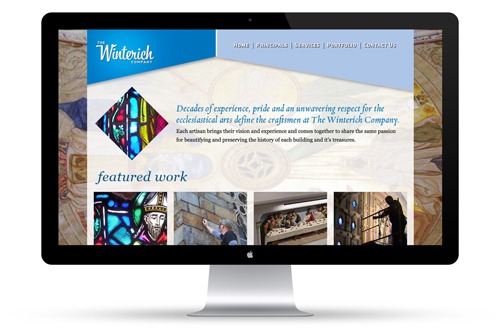 The Winterich Company Web Design