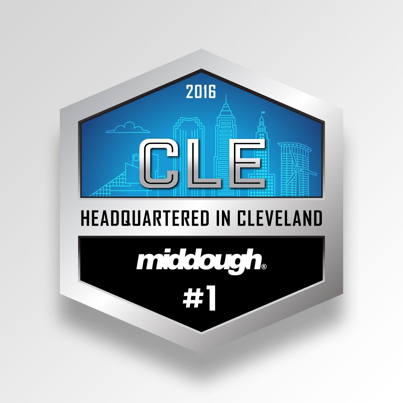 Krizman Cleveland illustration badge icons