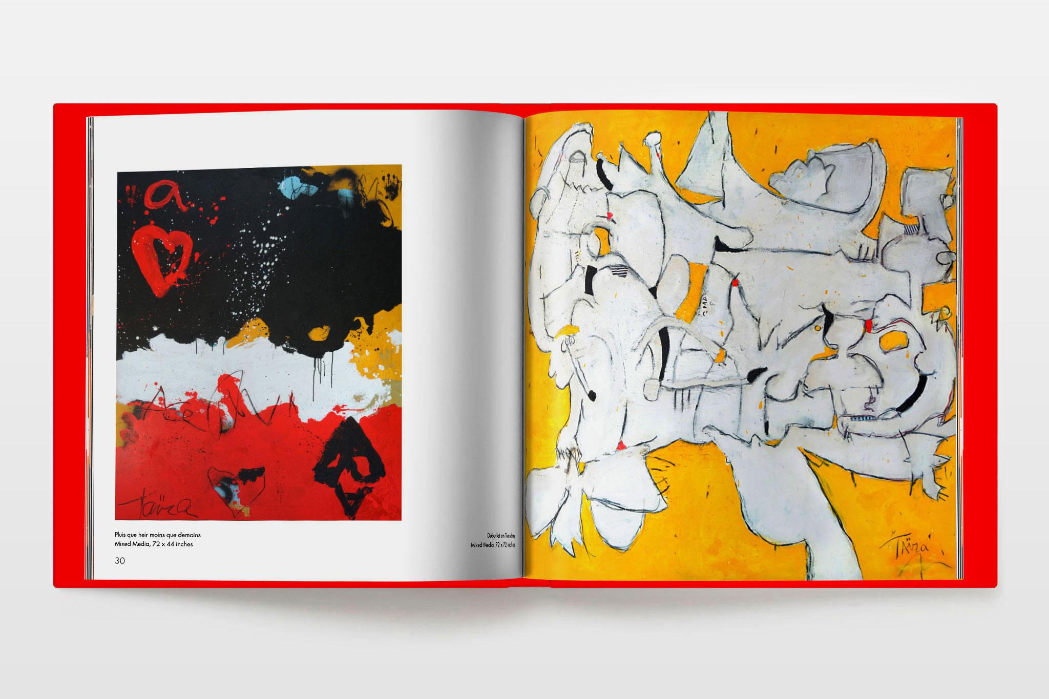 Taira book design