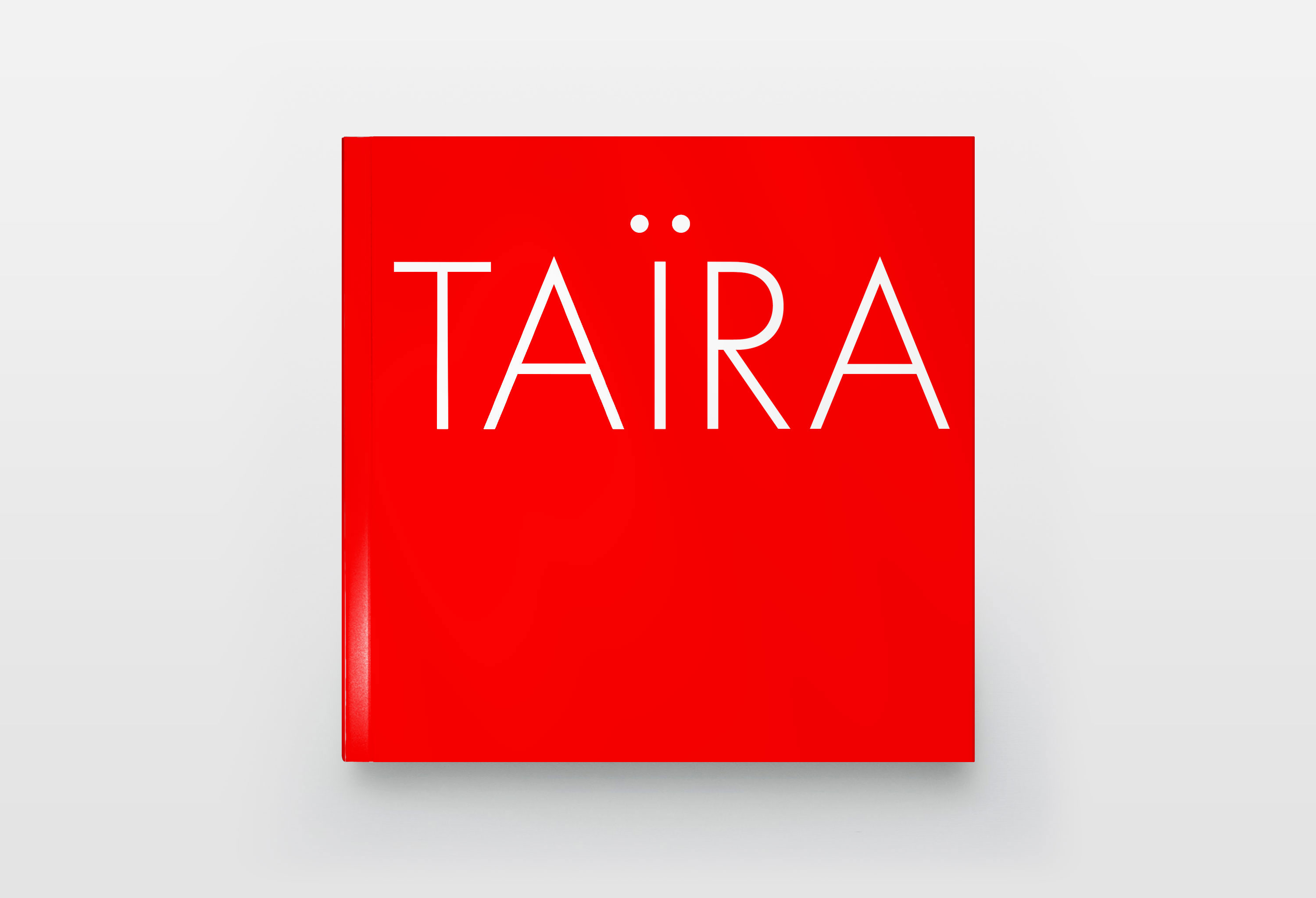 Taira book design
